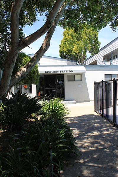 The Murray Station Office Is Located Just Outside The Gated Pool Area
